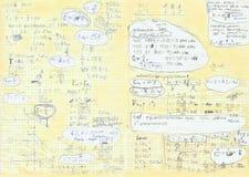 Synopsis van fysica Royalty-vrije Stock Afbeelding