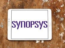 Synopsys-Softwareunternehmenlogo Stockbilder