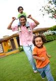 synowie ojców szczęśliwi Obraz Royalty Free