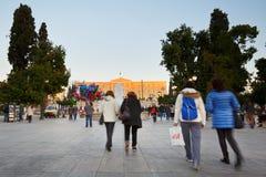 Syntagma kwadrat, Ateny Obraz Stock