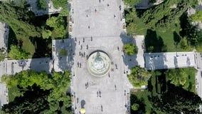 Syntagma Kwadratowy Powietrzny materiał filmowy zbiory