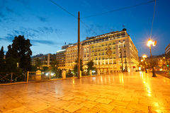 Syntagma sguare. Stock Photography