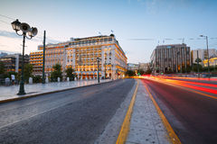 Syntagma sguare. Stock Photo