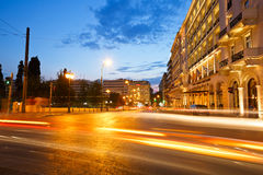 Syntagma sguare. Royalty Free Stock Image