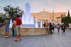 Syntagma sguare. Royalty Free Stock Photos