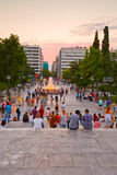 Syntagma sguare. Stock Image