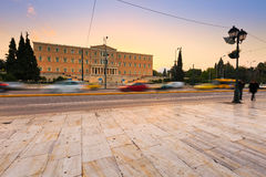 Syntagma square, Athens. Stock Photography