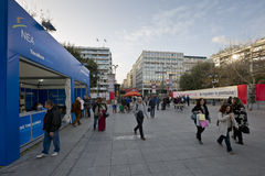 Syntagma square, Athens. Stock Photos