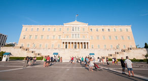Syntagma Square, Athens, Greece Stock Photography