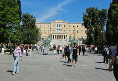 Syntagma square Stock Photo