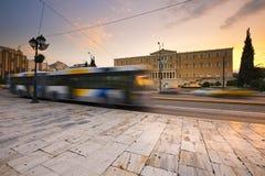 Syntagmaquadrat, Athen stockfotografie