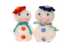 syntepon snowmans  Zdjęcia Stock