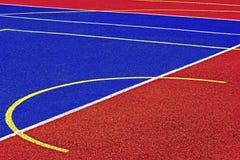 Syntetiskt sportfält 41 Royaltyfria Foton