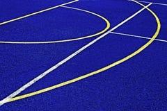 Syntetiskt sportfält 40 Royaltyfria Bilder