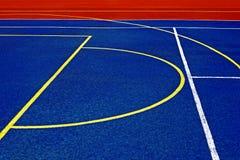 Syntetiskt sportfält 31 Arkivbilder