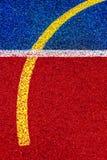 Syntetiskt sportfält 48 Royaltyfria Foton