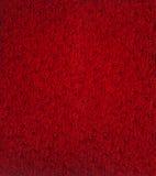 Syntetyczna czerwona skóra Obrazy Stock