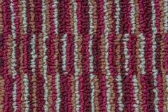 Syntetycznego w??kna dywan zdjęcie royalty free