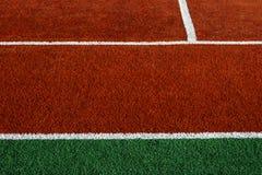 Syntetyczny sporta pole 13 obrazy stock