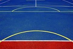 Syntetyczny sporta pole 28 Zdjęcie Royalty Free