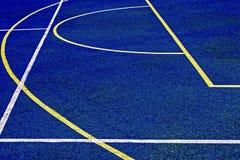 Syntetyczny sporta pole 32 zdjęcie royalty free