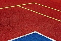 Syntetyczny sporta pole 49 obraz royalty free