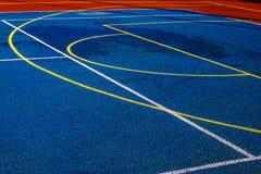 Syntetyczny sporta pole 4 zdjęcie stock