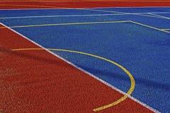 Syntetyczny sporta pole 6 obraz stock