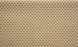 Synthèse brune de fibres Photographie stock