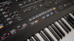 Synthétiseur de musique banque de vidéos
