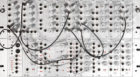 Synth modular Imagem de Stock Royalty Free