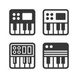 Synthesize Icon Set. Vector Stock Photo