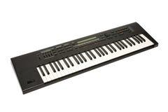 Synthesizer. Isolated on white background stock image