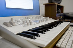 synthesizer Stockfotos