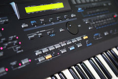 Synthesizer royalty free stock photo