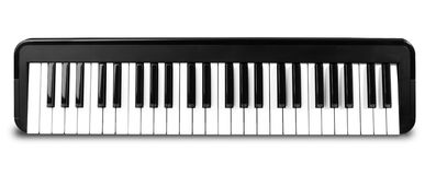 Synthesizer isolated on white Royalty Free Stock Image