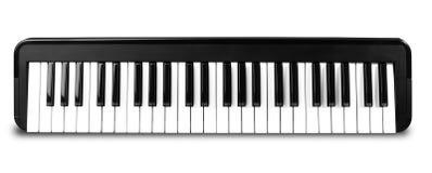 Synthesizer isolated on white Royalty Free Stock Image