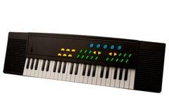 Synthesizer isolated on white background Stock Photo