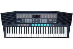 Synthesizer isolated on white background Royalty Free Stock Images