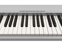 Synthesizer keyboard Stock Image
