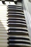 Synthesizer keyboard Stock Photo