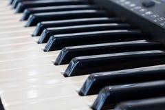 Synthesizer keyboard Royalty Free Stock Image