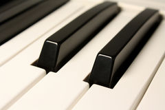 Synthesizer Keys Royalty Free Stock Photo