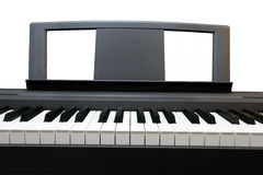 Synthesizer keys Royalty Free Stock Images