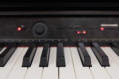 Synthesizer keys Stock Photography