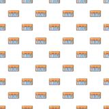 Synthesizer piano pattern seamless Stock Photos