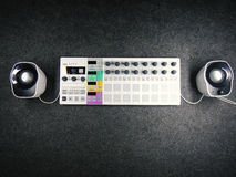 Synthesizer with speakers Stock Images
