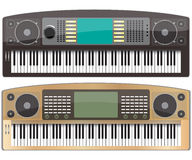 Synthesizers Royalty Free Stock Images
