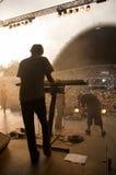 Synthesizerspieler Lizenzfreies Stockfoto