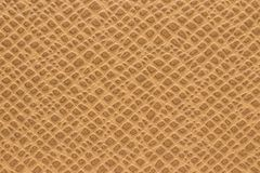 Synthetic brown leather for background stock photos